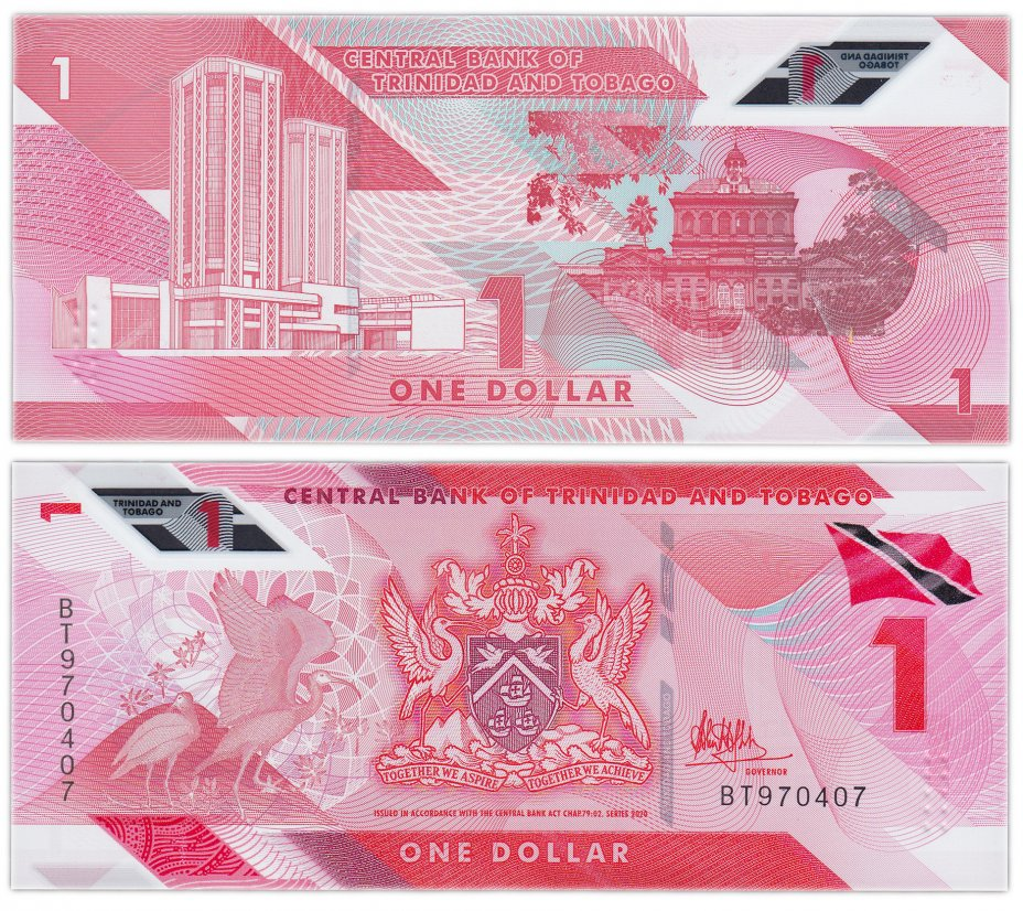 купить Тринидад и Тобаго 1 доллар 2020 (2021) (Pick new) Пластик