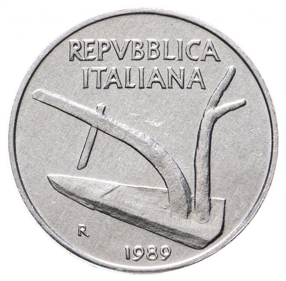 купить 10лир 1989     Италия