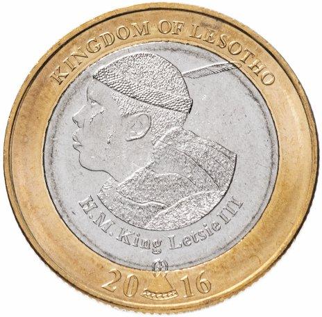 купить Лесото 5 малоти 2016