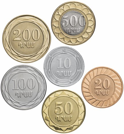 купить Армения набор монет 2003-2004 (6 шт)