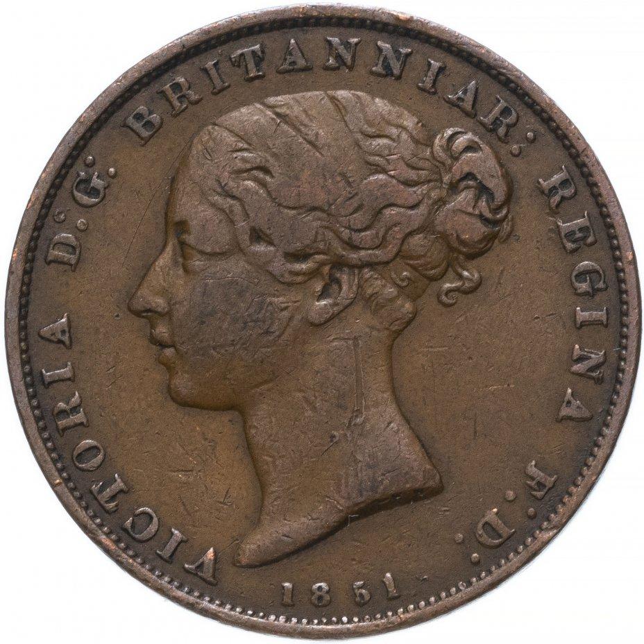 купить Джерси 1/26 шиллинга (shilling) 1851
