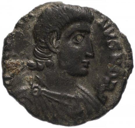 купить Римская Империя Юлиан II Отступник 360–363 гг фракция фоллиса (реверс: воин поражает копьем падающего всадника)