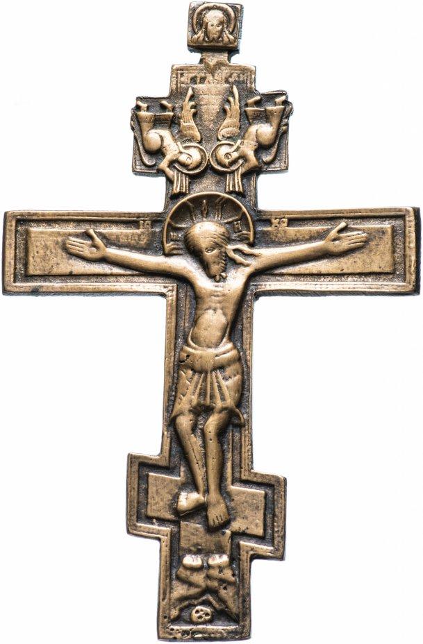 """купить Крест наперсный """"Распятие Христово""""  XIX в."""