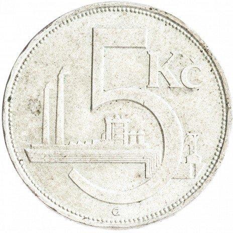 купить Чехословакия 5 крон 1928
