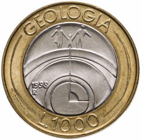 купить Сан-Марино 1000 лир 1998 Геология