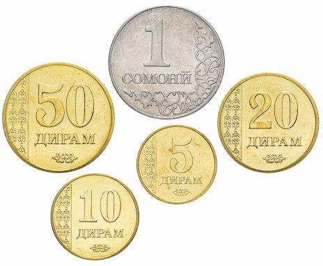 купить Таджикистан набор монет 2017 года (5 штук)