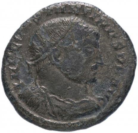 купить Римская Империя Константин I 306-337 гг фоллис (реверс: Сол стоит вправо, правая рука поднята, в левой – шар)