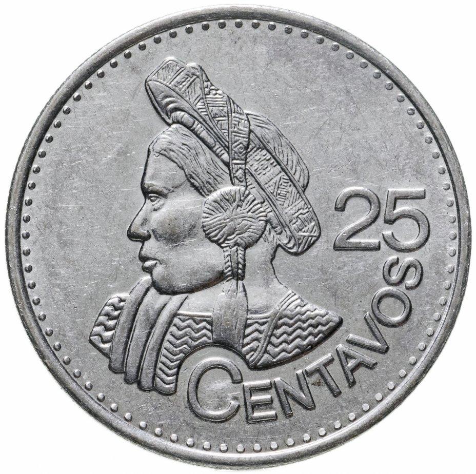 купить Гватемала 25 сентаво (centavos) 2012-2017, случайная дата