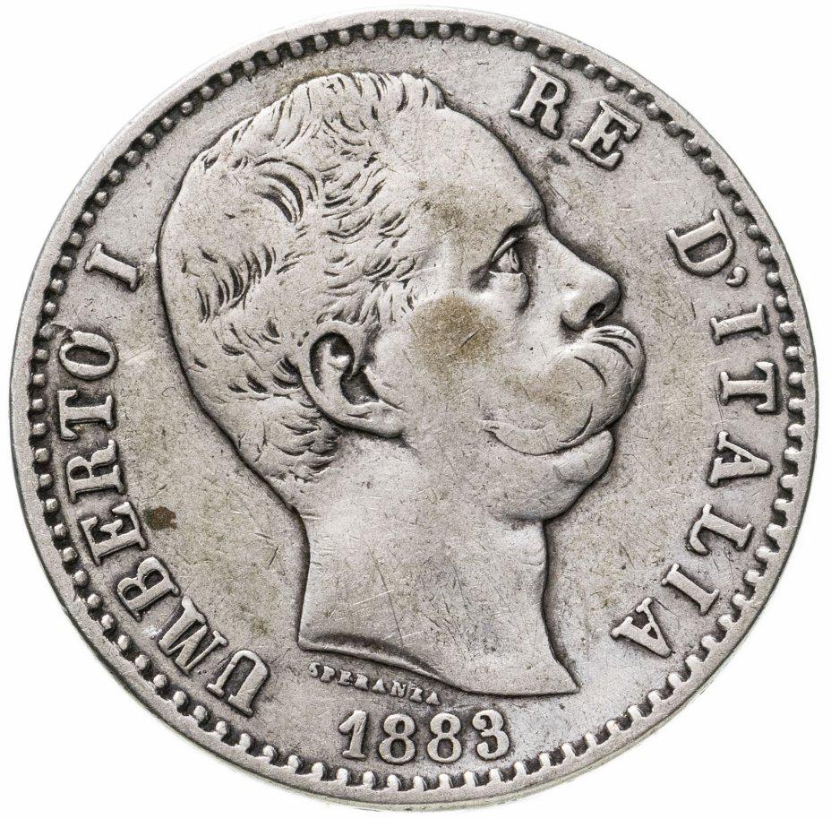 купить Италия 2лиры (lire) 1883
