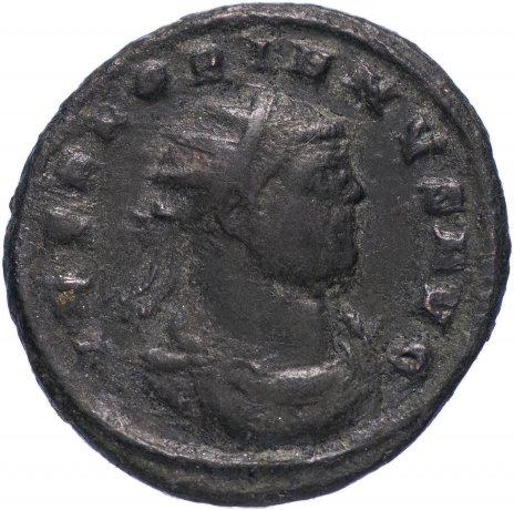 купить Римская Империя Флориан 276 г антониниан (реверс: Виктория стоит вправо, протягивает венок императору)