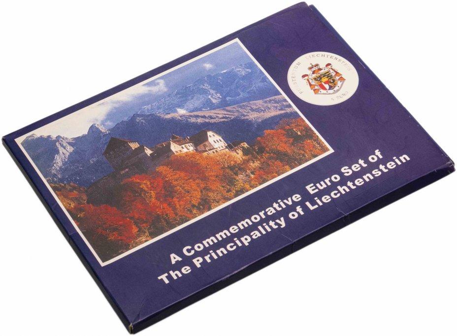 купить Лихтенштейн набор из 6 монет 1994-1998 в буклете