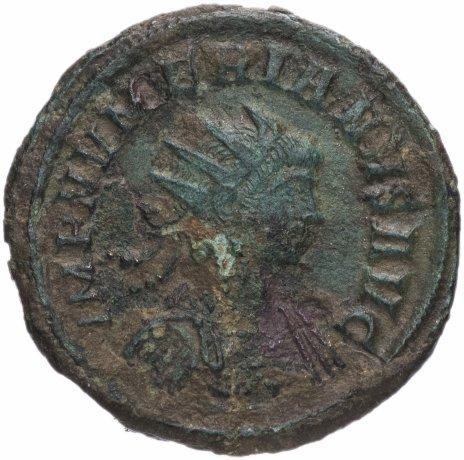 купить Римская Империя Аврелиан 270–275 гг антониниан (реверс: плохо различимое изображение)