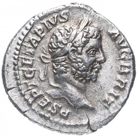 купить Римская империя, Гета, 198-212 годы, денарий. (Янус)
