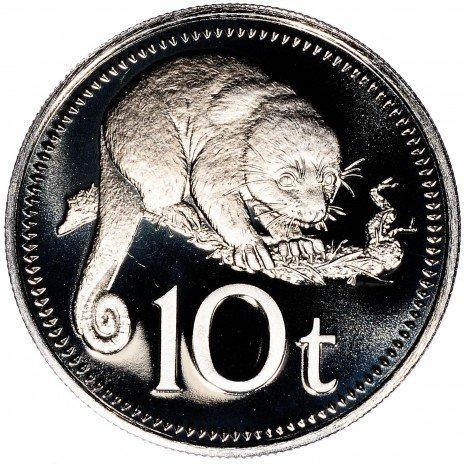 купить Папуа-Новая Гвинея 10 тао 1975