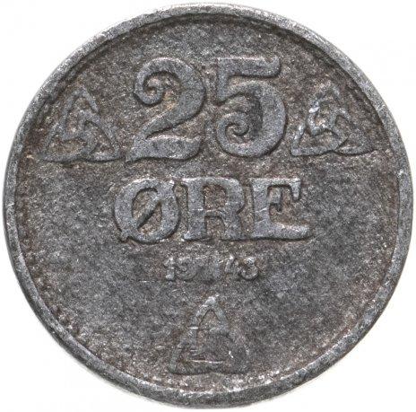 купить Норвегия 25 эре (ore) 1943