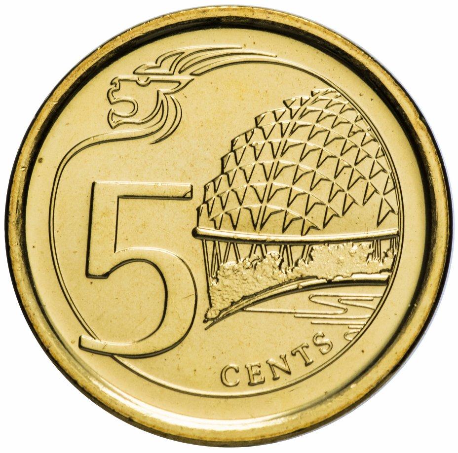 """купить Сингапур 5 центов 2013 """"Театр Эспланада"""""""