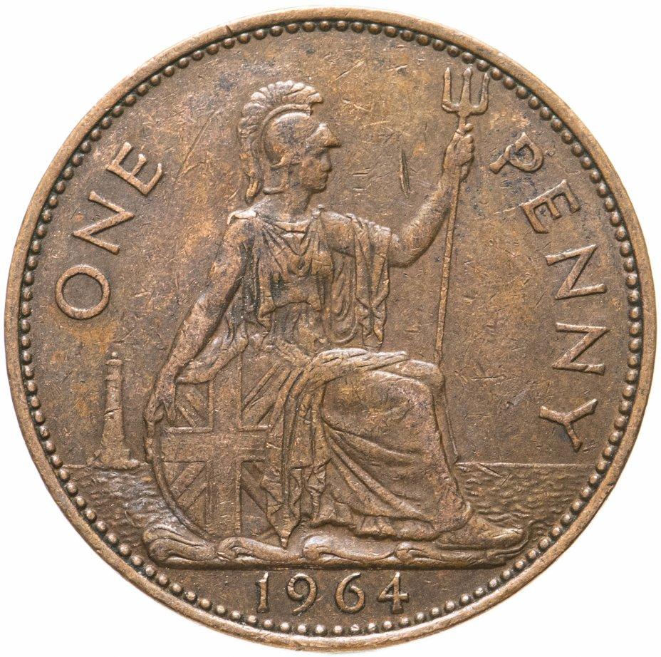 купить Великобритания 1 пенни (penny) 1964