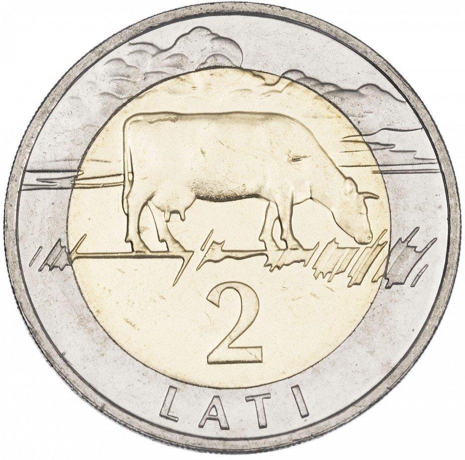 купить Латвия 2 лата 2009