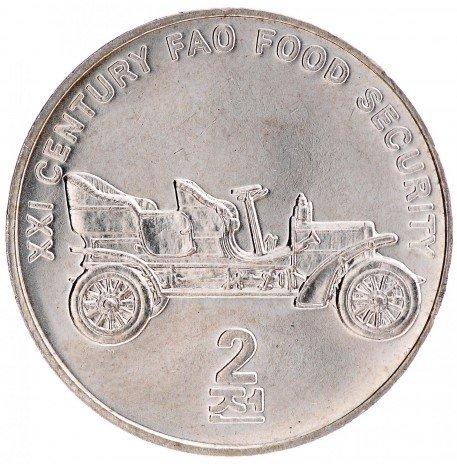 """купить 2 чона 2002 """"FAO - Автомобиль"""" КНДР"""