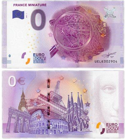 купить 0 евро (euro) «Парк развлечений «Франция в миниатюре» 2017 1-серия (UE LK-1)