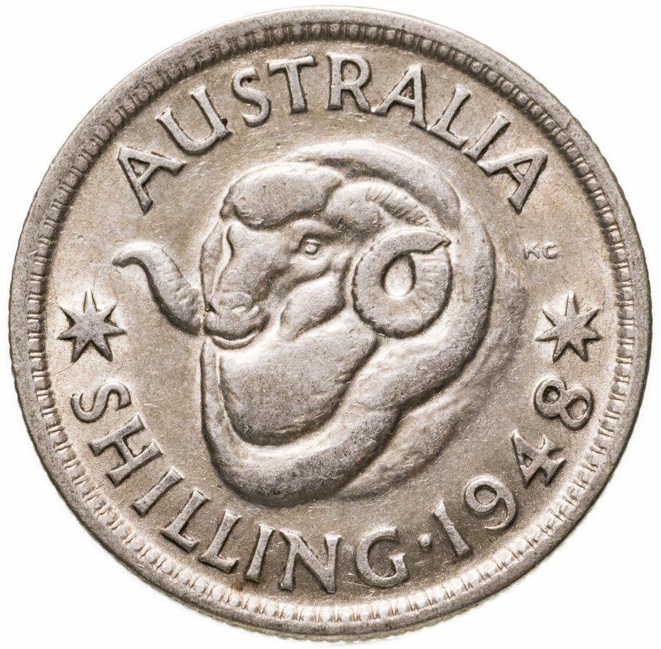 купить Австралия 1 шиллинг (shilling) 1948
