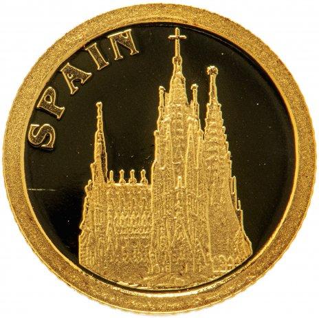 """купить Либерия 12 долларов 2008 """"Европейские страны - Испания"""""""