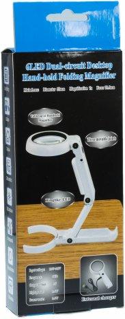 купить Лупа-трансформер с 7-кратным увеличением 55 мм, с подсветкой USB