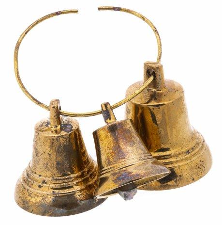 купить Набор из трех валдайских колокольчиков, металл, СССР, 1970-1990 гг.