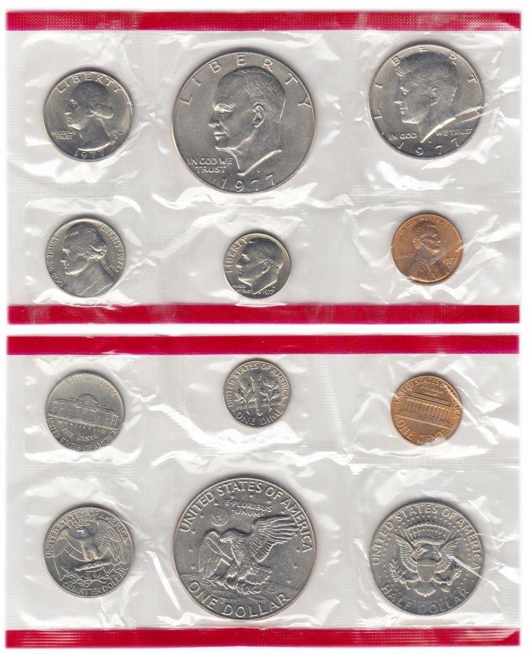 купить США годовой набор 1977 D(6 монет)
