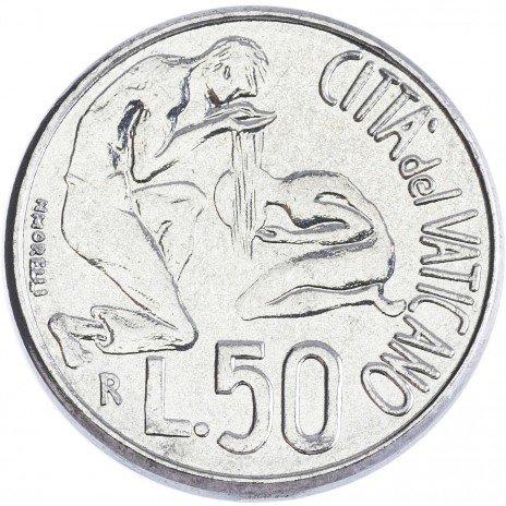купить Ватикан 50 лир 1991