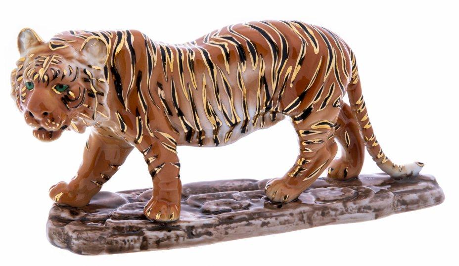 """купить Статуэтка """"Тигр"""", фарфор, роспись, Китай, 2000-2015 гг."""