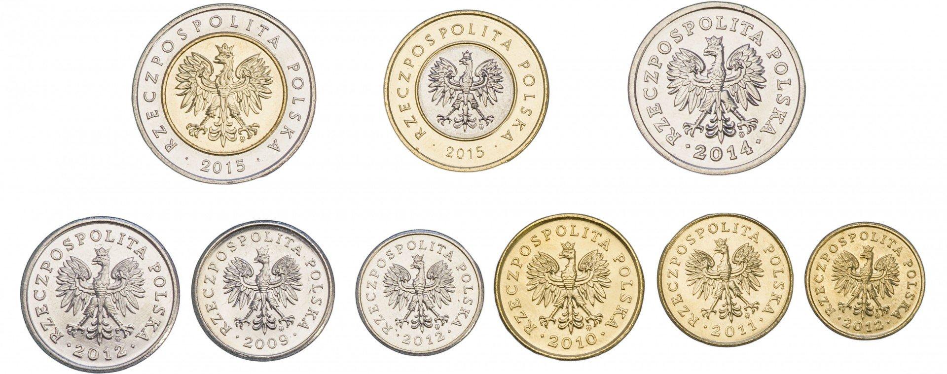 Весь набор монет польши светлана сухорукова козельск