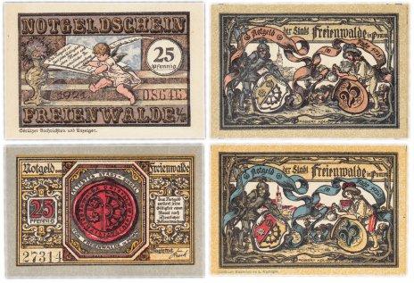 купить Германия (Померания: Фрайенвальде) набор из 2-х нотгельдов 1921