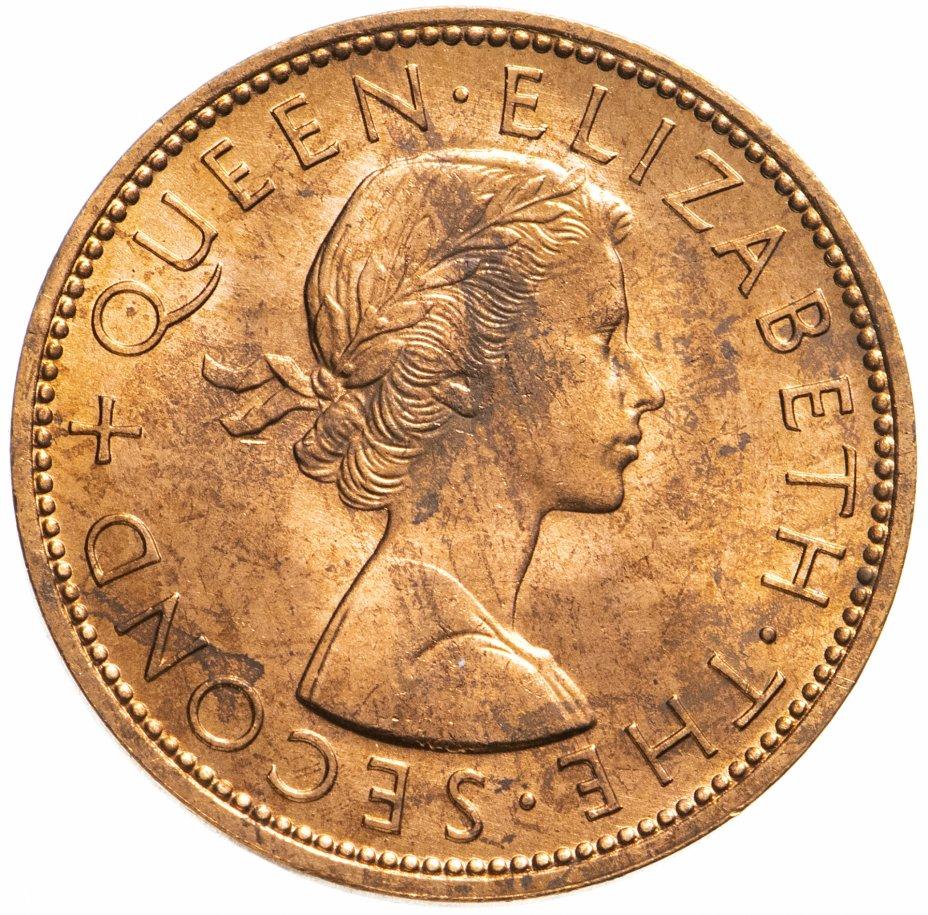 купить Новая Зеландия 1 пенни (penny) 1963