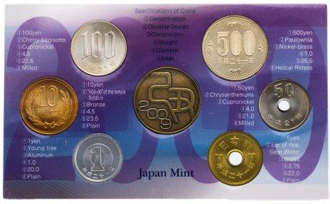 купить Япония Годовой набор монет 2009 (6 монет + жетон)