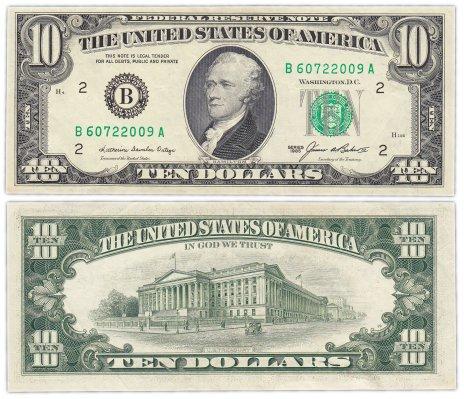 купить США 10 долларов 1985 (Pick 476) B - Нью Йорк