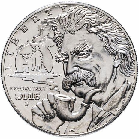 купить США 1 доллар (dollar) 2016 P Mark Twain UNC