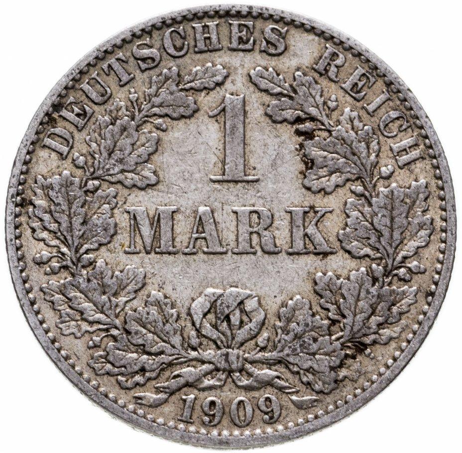 """купить Германия. Германская империя 1 марка 1909 """"А"""" - Берлин"""