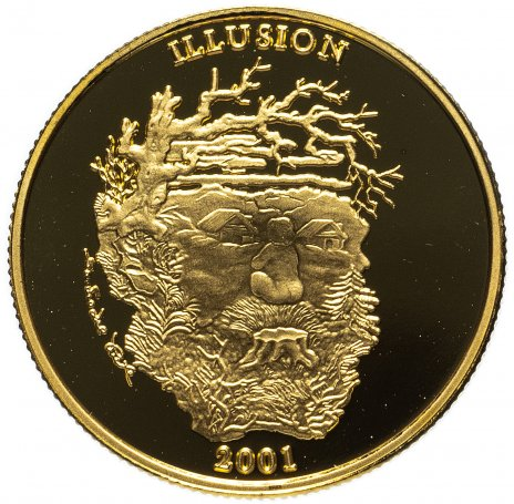 купить Уганда 12000 шиллингов, Елизавета II, дух иллюзий, дух горы