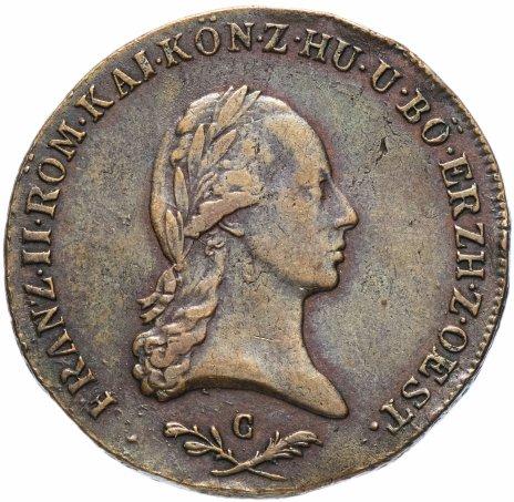 купить Австрия 6 крейцеров 1800 С