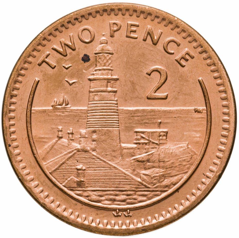 купить Гибралтар 2 пенса 2003