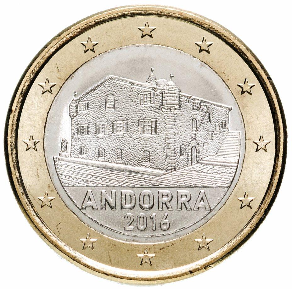 купить Андорра 1 евро (euro) 2016