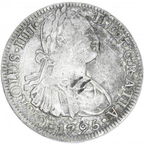 купить Испанская колония в Мексике 8 реалов 1795 Чарльз III