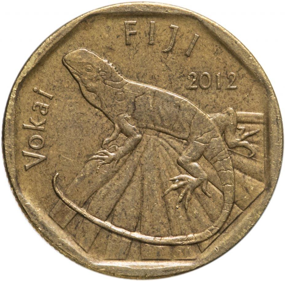 купить Фиджи 1 доллар 2012