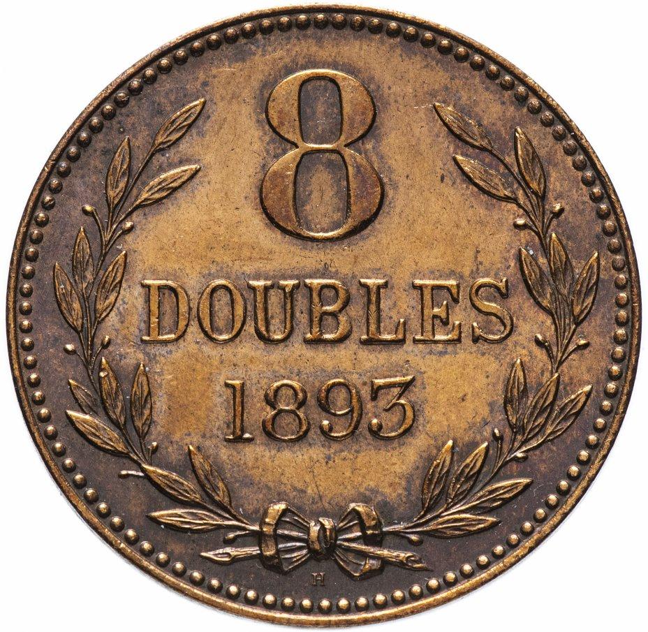 купить Гернси 8 дублей 1893