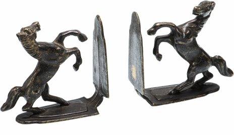 купить Букенды (держатели для книг) в виде лошадей, бронза, Германия, 1950-1960 гг.