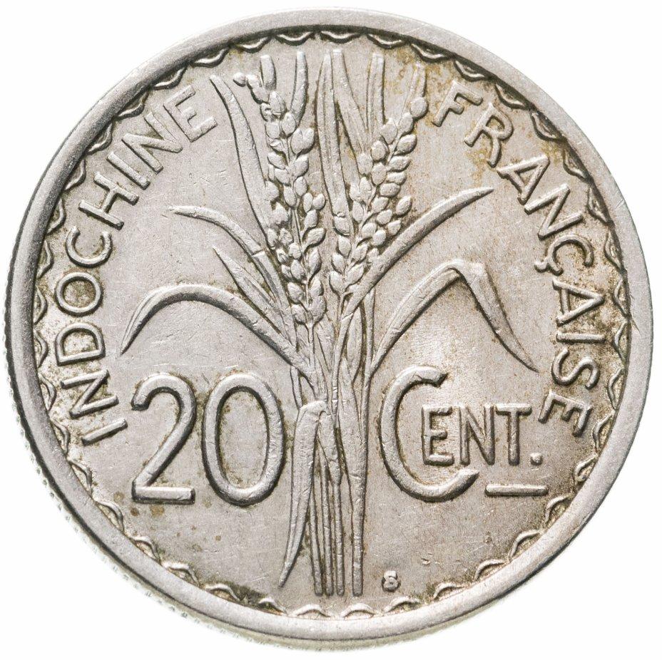 купить Французский Индокитай 20сантимов (centimes) 1941
