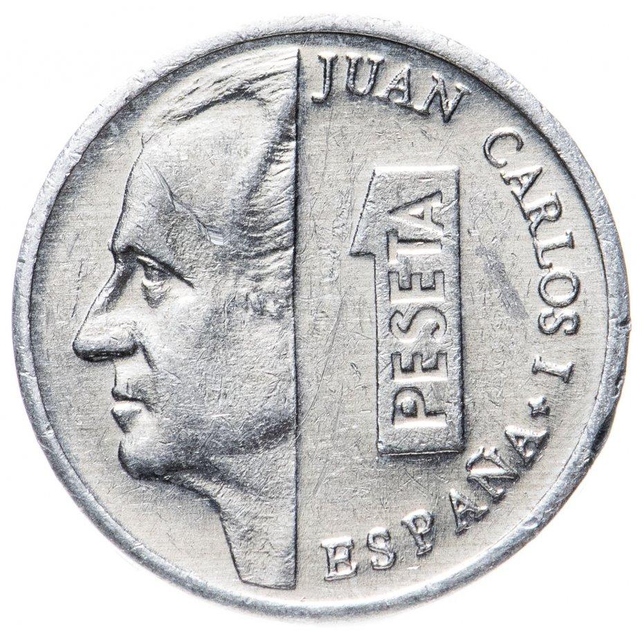 купить Испания 1 песета 1989-2001 случайный год