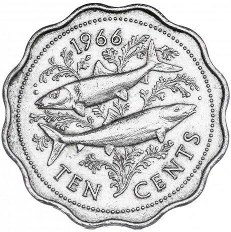 купить Багамские острова 10 центов 1966