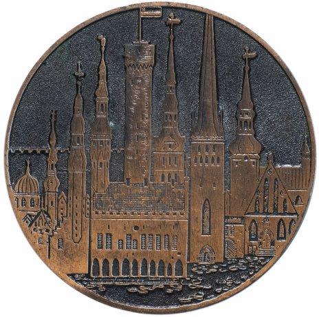 """купить Медаль """"Таллинн основан в 1154 г."""""""